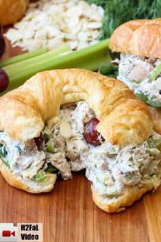 This Best-Ever Chicken Salad is really wonderful. Perfect for incredible chicken salad sandwiches (croissants are great!), or ton top of a lovely bed of green. Either way, you're just going to love salad How to Make the Best-Ever Chicken Salad Salat Sandwich, Roast Beef Sandwich, Chicken Salad Recipes, Chicken Salad With Grapes, Salad Chicken, Rotisserie Chicken Salad, Ina Garten Chicken Salad, Healthy Recipes, Health Foods