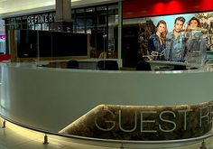 Virus screen at Shopping Centre 3