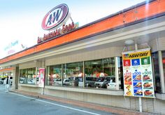 "A & W DRIVE-IN RESTAURANT in OKINAWA - ""All American Food"" !"
