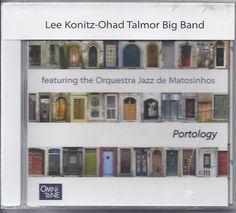 Lee Konitz-Ohad Talmor Big Band CD Featuring Orquestra Jazz De Matosinhos