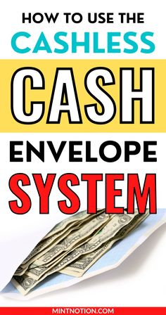 How to use the cash envelope system without cash. If you want to follow Dave Ramsey's cash envelopes without cash, check out these budget tips to help you get started. Includes common cash envelope categories and free cash envelope printables. If you don't want to worry about carrying cash in your wallet, the cashless envelope system can be a great way to save money. Life On A Budget, Debt Free Living, Cash Envelope System, Paying Off Student Loans, Down Payment, Cash Envelopes, Free Cash, Create A Budget, Frugal Living Tips