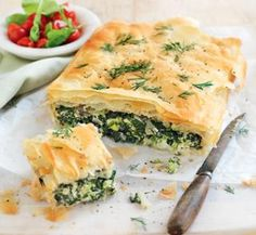 Silverbeet, ricotta and broccoli pie | Australian Healthy Food Guide