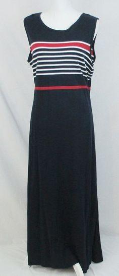 Norton Studio Woman Dress 1X Maxi Original $50.00 #NortonMcNaughton ebay