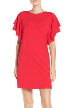 Free shipping and returns on Felicity & Coco Ruffle Sleeve Shift Dress (Nordstrom Exclusive) at Nordstrom.com. Ruffled sleeves add a hint of intrigue to a modern stretch-jersey shift dress.