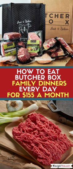 Butcher Box Plans Before You Purchase Your Plan Have A Read Over My
