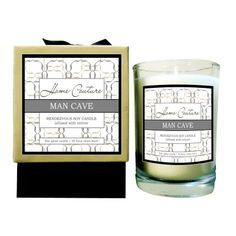 Man Cave Soy Candle - great for Father's Day!!!!