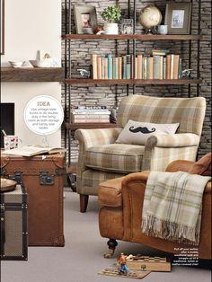 Love the tartan chair