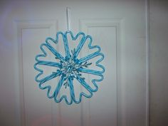 candy cane wreath I made this one