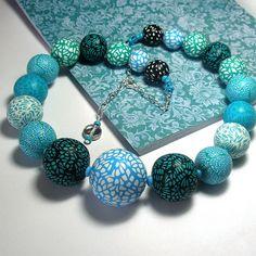 *2****vs.........///                                                       Polymer clay beads