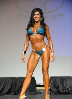 2012 IFBB St. Louis Pro Bikini 1st Place Winner Jennifer Andrews