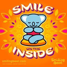 Smile On The Inside – Don't Be A Smile Phony!    http://smilingbear.com/blog/smile-on-the-inside-dont-be-a-smile-phony    #smilingbear #smilemore #koala #koalabear #bear #koalified #koalification #smile #smiling #happy #cute #kawaii #australia #sydney #beach #art #fashion #design #illustration #characterdesign #fun #iphonesia #japan #kawaiigurls #kawaiioftheday #peace #inner #smileinside
