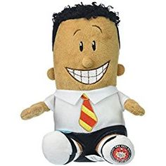 Captain Underpants Beans Talking Soft Plush George Beard Kids Play Toys Gift New Captain Underpants Toys, 4th Grade Books, Pokemon Snorlax, Popular Book Series, League Of Legends Game, Epic Movie, Anime Dolls, Little Golden Books, Collector Dolls