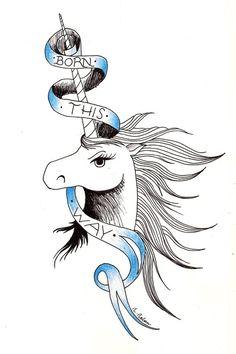 Lady GaGa Tattoo Born This Way by ~MarrowMelow on deviantART