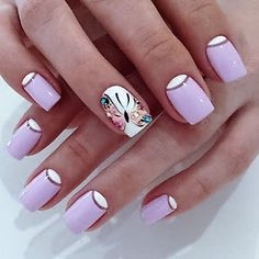 spring has sprung and what better way to celebrate than with a butterfly on your nail. This is gorgeous
