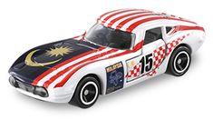 アピタピアゴオリジナル <世界の国旗トミカ>トヨタ 2000GT マレーシア国旗タイプ