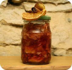 dobroty Dulinka: Pečený {vánoční} čaj Hot Sauce Bottles, Jar, Food, Essen, Meals, Yemek, Jars, Eten, Glass