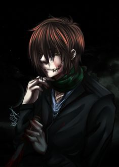 Homicidal Liu  I haven't read his story yt but this looks awesome.