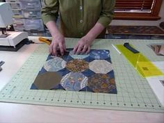 "How to make a SnowBall Block using 5"" squares - Quilting Tips & Techniques 033 - YouTube"