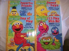Sesame Street Coloring & Activity Book (Set of 4 Books) by Bendon, http://www.amazon.com/dp/B006PI8CLA/ref=cm_sw_r_pi_dp_Qzvorb0XAFDZJ
