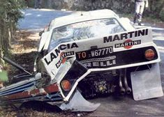 Toivonen-Piironen - Portugal Rally crash 1984