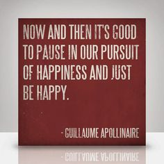 Learn to pause.