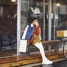 近所の大好きなコーヒーショップ @camelback_tokyo でVOGUE GIRL×FOREVER21の撮影しました。 #vgram #forever21 #foreverYou #f21japan