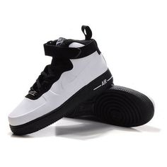 Nike Air Force One High Men Patent Leather Men White Shoes 1005 $78