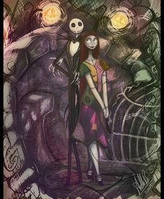 Jack and Sally 2 by *StellaB on deviantART