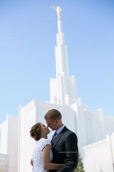 Denver LDS Temple Wedding – Mr & Mrs Robinson