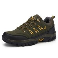 Men's Hiking  Trekking Non-Slip Shoes Outdoor Mountain Climbing Boots ShoesA35 Waterproof Mountain Boots Shoe Hunting Shoes
