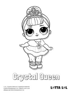 28 Best LOL Surprise! Dolls Series 1 Coloring Pages images