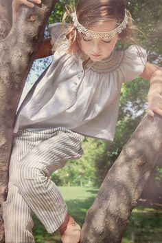 Casual but dressy cottons at NORO summer 2015 kidswear