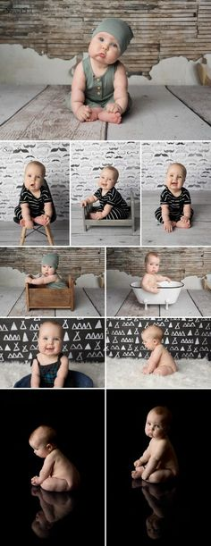 Love this six month old photo session with Cohen and his cheeks. Sunny S-H Photography Winnipeg