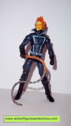 marvel universe GHOST RIDER series 2 light blue 030 hasbro toys action figures nost