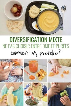 La diversification mixte, on en parle? - The Best Homemade Baby Recipes Little Babies, Baby Kids, Baby Cooking, Pregnancy Nutrition, Baby Education, Homemade Baby, Baby Hacks, Diet And Nutrition, Diy Food