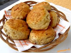 Bread Recipes, Cooking Recipes, Home Baking, Biscuits, Muffin, Food And Drink, Sweets, Breakfast, Cake