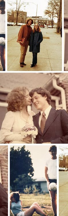 The Feed: 5 vintage photos that tell the story of how Hillary and Bill fell in love