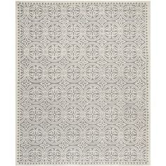 @Overstock - Hand-tufted of a 100-percent wool pile, this handmade wool rug features a special high-low construction to add depth and unusual detailing.http://www.overstock.com/Home-Garden/Safavieh-Handmade-Cambridge-Moroccan-Silver-Wool-Rug-8-x-10/7745545/product.html?CID=214117 $406.99