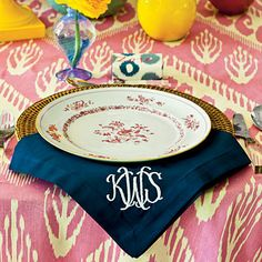 Kimberly Schlegel Whitman: Tablescape Tuesday: A Bright Luncheon   for Southern Living