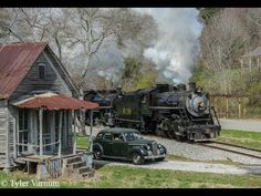 Southern Steam in the Tennessee Valley by Cape Cod Railfan Videos Ho Trains, Model Trains, Route 66, Railroad History, Southern Railways, Train Art, Train Pictures, Steam Engine, Steam Locomotive