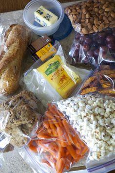 Top Ten Healthy Snacks for Plane