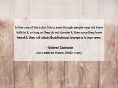 #Gosho 62: Letter to Horen, WND-1 505