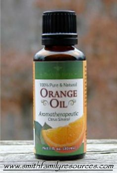 Orange Essential Oil ~ Use orange oil to make your own pesticide and foam soap.  Add it to your laundry and to your bathwater.  Spritz it in your home.  Click for suggestions and recipes!
