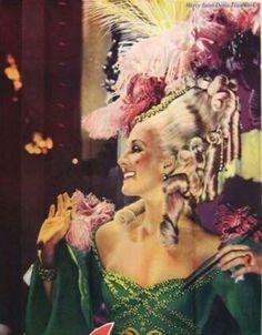 Norma Shearer as Marie Antoinette in 1938 movie.