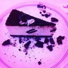 Torta oreo con cioccolato :) Delizioso dessert da gustare in un ambiente tutto anni 50, incredibile!!!!