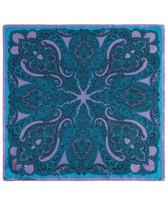 Blue Star Paisley Print Small Silk Scarf, Etro. Shop the latest silk scarves from the Etro collection online at Liberty.co.uk
