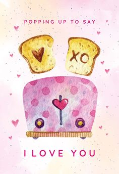 Toasts in love - Love Card #greetingcards #printable #diy #Love #romance #emotion #passion