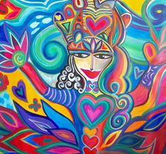 Bendiciones ARCOIRIS RAINBOW BLESSINGS to all #happyartbypato #patogilvillalobos #colores #spiritualart #instaartist #instaartista #artgallery