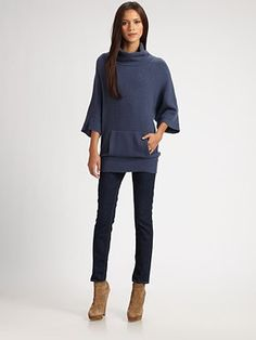 Hattori Wool and Cashmere-Rich Oversized Turtleneck Sweater