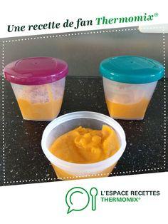 Purée patate douce et poireaux pour bébé par Alihotsy. Une recette de fan à retrouver dans la catégorie Alimentation pour nourrissons sur www.espace-recettes.fr, de Thermomix<sup>®</sup>.